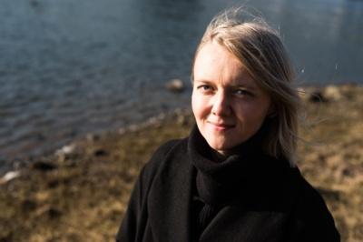 Kino kuratorė, kritikė pasvalietė Mantė Valiūnaitė. Bertos Tilmantaitės nuotrauka