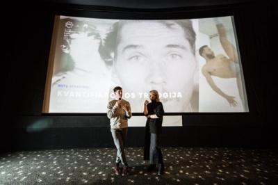 """Alternatyvaus turinio kino filmų 9 salės atidarymas festivalyje """"Kino pavasaris"""". Asmeninio albumo nuotrauka."""