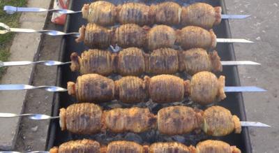 Bulvių šašlykai © Socialiniai tinklai