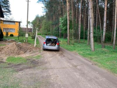 M. Sinkevičius užfiksavo vagių automobilį.