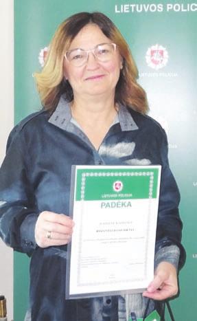 R. Daniulienė – bendruomenės pirmininkė.