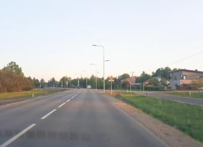 Bačiūnų gatvė. Šiaulių miesto savivaldybės nuotr.
