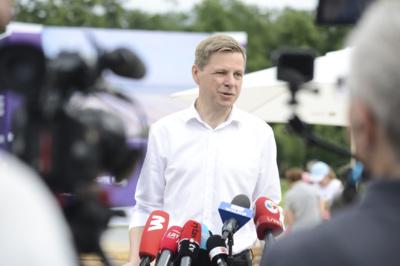 Vilniaus miesto meras Remigijus Šimašius. Mariaus Morkevičiaus (ELTA) nuotr.