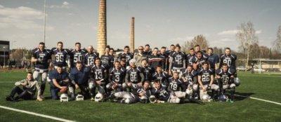 """Kauno """"Dukes"""" – antroji Lietuvoje amerikietiškojo futbolo komanda."""