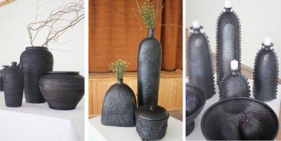 Juodosios keramikos meistrus Lietuvoje galima suskaičiuoti ant rankų. Tai – seniausia ir bene sudėtingiausia molio apdirbimo technologija.