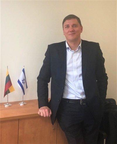 Arūnas Karlonas, Lietuvos Respublikos komercijos atašė Izraelio Valstybėje @ Ambasada