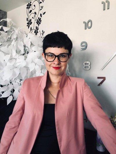 Logopedė Ana Leonovič.