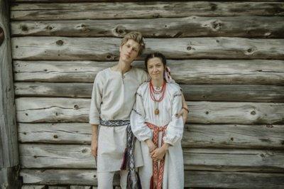 Rokas su savo žmona Egle poveseilinėje išvykoje Zervynose.