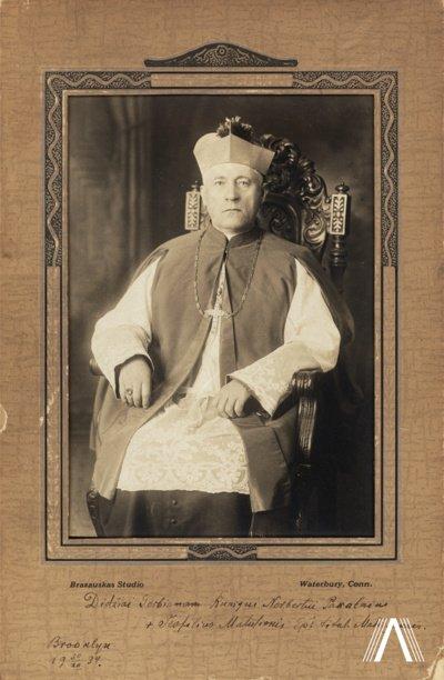Rasta pal. Teofiliaus Matulionio nuotrauka iš Buklino. Brazausko nuotr.