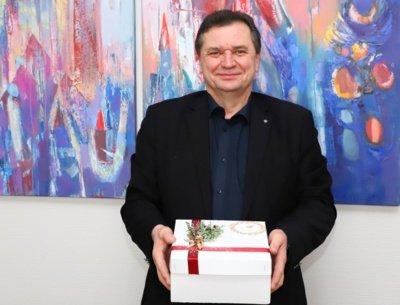 """UAB """"Splius"""" generalinis direktorius Arymantas Klapatauskas"""