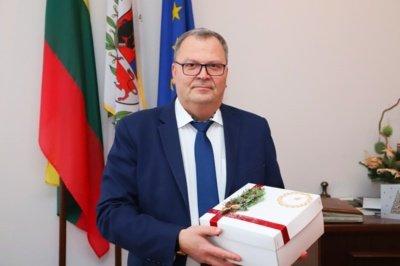 """AB """"Šiaulių energija"""" generalinis direktorius Virgilijus Pavlavičius"""