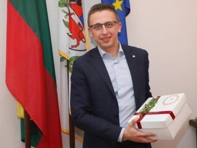 Vilmers direktorius Ovidijus Jalonskis