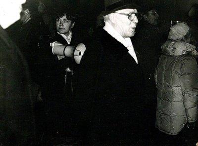 V. Karklytė 1991 m.sausio 13-ąją.