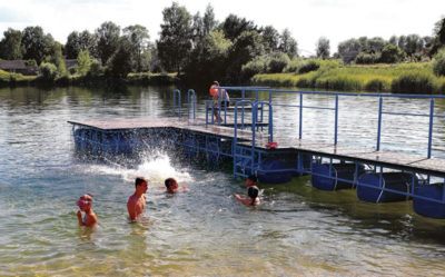 Pumpėnų ežero atnaujinimas – Metų jaunimo iniciatyva. Aidos GARASTAITĖS nuotr.
