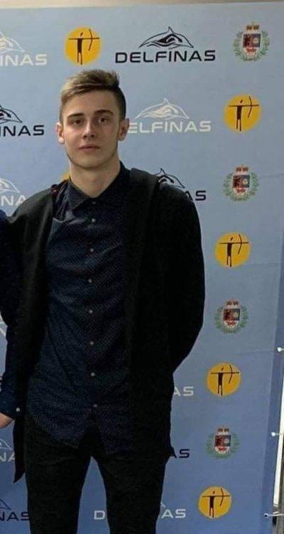Justas Jankauskas apgynė Lietuvos plaukimo meistro vardą