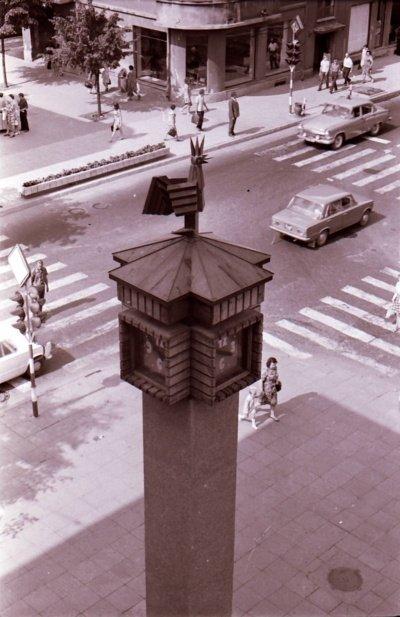 Laikrodžio mechanizmas buvo atgabentas į Šiaulius iš Ordžonikidzės miesto. (Viliaus Purono asmeninio archyvo nuotr.)