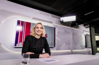 Atėjusi į Delfi.lt portalą kaip pramogų žurnalistė, Kristina Pocytė po kelerių metų įsiliejo į aktualijų komandą. (Šarūno Mažeikos nuotr.)