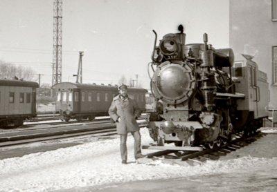 """Toks mažytis garvežiukas galėjo kursuoti nuo """"Šiaulių"""" viešbučio iki geležinkelio stoties. Idėja sulaukė daug pritarimo, bet pačių svarbiausių žmonių pritarimo taip ir negavo. (V. Purono asmeninio archyvo nuotr.)"""