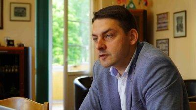 ŠPPAR prezidentas Vytis Lembutis atkreipia dėmesį, kad šiuo metu savivaldybės infrastruktūra ir šiaip nėra išnaudota. Naujų įmokų atsiradimas ribos plėtrą, Šiauliai taps nepatrauklūs investuotojams. (Audronio Rutkausko nuotr.)