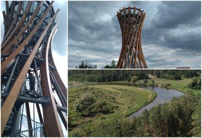 Metelių apžvalgos bokštas. Etaplius.lt nuotr.