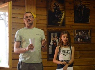 Aivaras Veiknys su dukra