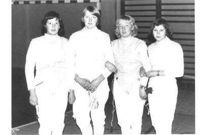 Būdama vienuoliktoje klasėje, Lorita jau įvykdė sporto meistro normatyvą. Atkakli ir disciplinuota sportininkė visuomet buvo Lietuvos rinktinėje. (Loritos Valiulienės asmeninio archyvo nuotr.)