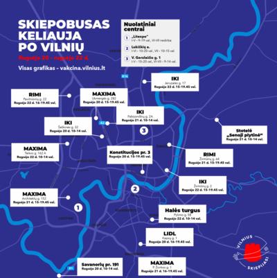 Šią savaitę Vilniaus gyventojai dar gali patogiai pasiskiepyti skiepobuse. Vilniaus miesto sav. nuotr.